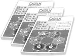 999 Games Catan: Het Dobbelspel: Scoreblok 3 stuks Dobbelspel