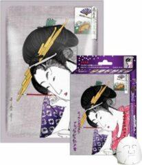 Witte Mitomo Japan Mitomo™ Arbutin & Lithospermum Gezichtsmasker - Anti Aging Face Mask - Gezichtsverzorging Masker