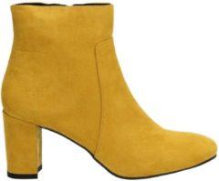 La Strada dames enkellaars - Oker geel - Maat 36