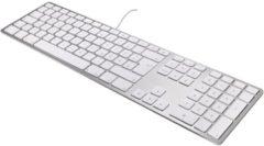 MacLand Matias MT1005AL USB toetsenbord QWERTY, US, iOS Aluminium