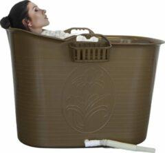 Gouden EKEO - Zitbad Voor Volwassenen - Bath Bucket - Ligbad - Gold - 200L