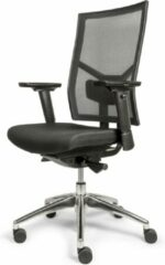 OVVIS Ergonomische Bureaustoel met Aluminium Voet - Tyson Mesh - Zwart