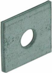 Gebr. Bodegraven GB Volgplaat sendzimir verzinkt m10 40 x 40 x 3mm 84412 (Prijs per stuk)
