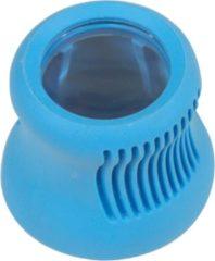 Blauwe Aidapt Medicijnpot opener met vergrootglas