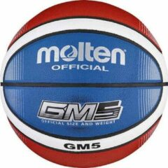 Rode Basketball ball TOP training MOLTEN BGMX5-C, synth. leather size 5