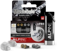 Alpine MusicSafe - Muzikanten oordoppen transparant