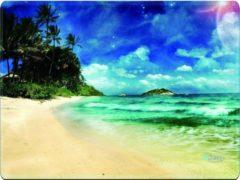 Blauwe Muismat tropisch eiland - Sleevy - mousepad - Collectie 100+ designs