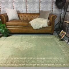 Interieur05 Vintage vloerkleed Groen - Infinity-[Afmetingen:160 x 230 cm]-[Afmetingen:160 x 230 cm - (M)]