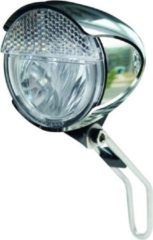 Trelock LS 583 Bike-i Retro koplamp zilver