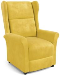 Home Style Fauteuil Agustin in geel