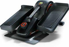 Zwarte SPORTSTECH mini hometrainer + app | stepper voor beweging op kantoor & thuis | slimme crosstrainer voor werkplek & gezondheid | DFX70 minibike pedaaltrainer