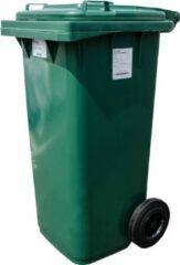 Pestan Kunststof Rolcontainer, kliko, Afvalcontainer Mini-container 140 Liter Groen