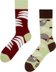 Merkloos Good Mood Sloth Unisex Adult Animal Sokken Unisex Sokken 39-42
