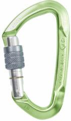 Climbing Technology - Lime schroefkarabiner - Schroefkarabiner groen/olijfgroen/grijs