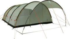 10-T Outdoor Equipment 10T Leighton 6 - 6-Personen Tunnel-Zelt mit großem Vordach und Voll-Bodenplane 2m Stehhöhe WS=5000mm
