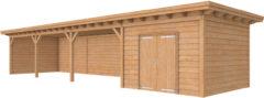 Woodvision Douglasvision | Buitenverblijf Prestige | 1400 x 360 cm