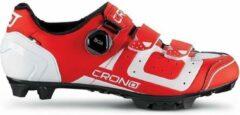 Crono Cx3 Fietsschoenen Heren Rood Maat 40