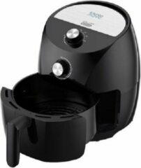 Zwarte Airfryer van Kitchen Move (inhoud: 3,5 liter)