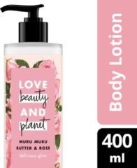 Love Beauty and Planet Muru Muru Butter & Rose delicious glow bodylotion - 400 ml