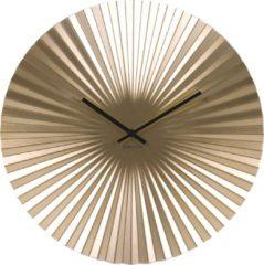 Gouden Karlsson Klok Wall clock Sensu steel gold