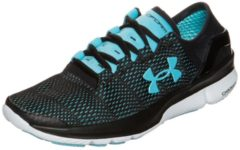 SpeedForm Turbulence Laufschuh Damen Under Armour black / sky blue / white