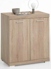 FD Furniture Opbergkast Bristol 1 XL van 90 cm hoog in eiken