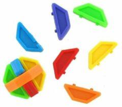 Huismerk 24 Stuks - Puzzel Bal - Gekleurde 3D Puzzel - uitdeelcadeautjes - Uitdeel - Traktatie voor kinderen - Jongens - Meisjes
