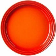 LE CREUSET - Aardewerk - Dinerbord 27cm Oranje