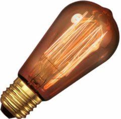 Gloeilicht LINDEN Kooldraadlamp Edison E27 40W 230V - 6 stuks