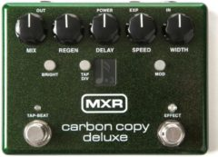 Bruine MXR M292 Carbon Copy Deluxe delay/echo/looper pedaal