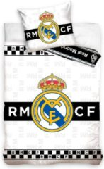 Witte Real Madrid CF Dekbed Real Madrid checkers (RM181051) 140x20070x90 cm
