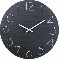 Luminous Luxury Moderne wandklok | Zwart | 30 cm | Klok | Home Decor