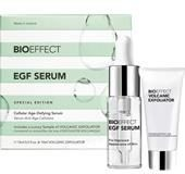 BioEffect Anti-Aging Pflege Gesichtspflege Geschenkset EGF Serum 15 ml + Volcanic Exfoliator 10 ml 1 Stk.