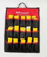 New Tag rugby riemen houder - Ophang houder - Rood/zwart