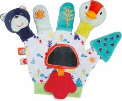 Imaginarium Mano Marionet TEDDY en TWEET - Handschoen om met Baby te Spelen - Vrolijke Speelhandschoen met Spiegeltje
