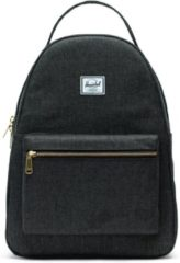 Zwarte Herschel Supply Co. Supply Co. Nova Mid-Volume Rugzak - Black Crosshatch