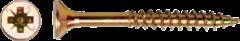 Pgb fasteners PGB-FASTENERS Spaanplaatschroef, VZK geel verzinkt 6x80mm PZ3 (200 stuks)