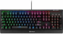 Sharkoon SKILLER MECH SGK3 toetsenbord USB Amerikaans Engels Zwart