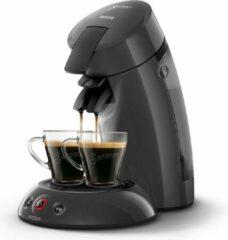Donkergrijze Philips Senseo Eco-model HD6552/38 - Koffiepadmachine - Donker grijs