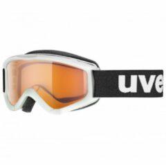 Uvex - Kid´s Speedy Pro Lasergold S2 - Skibril grijs/beige/zwart