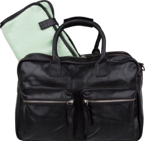 Afbeelding van Cowboysbag Luiertas The Diaper Bag Mint Inside Zwart