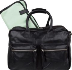Cowboysbag Luiertas The Diaper Bag Mint Inside Zwart