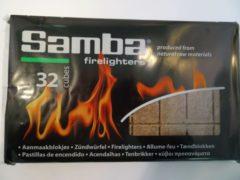 Dutch Flame Aanmaakblokjes Bruin (32 Stuks)