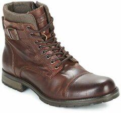 Bruine Boots en enkellaarsjes JFWALBANY by Jack & Jones