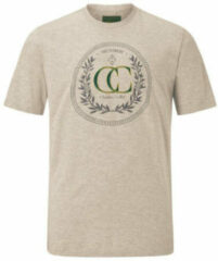 Charles Colby T-shirt EARL CRAIG Plus Size beige