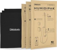 Creme witte D'Addario Humidipak System Replacement Packets, 3-pack