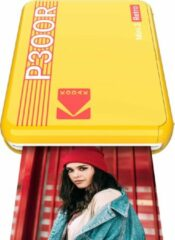 Gele Kodak Mini 3 Square retro printer yellow