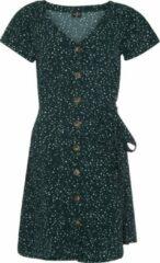 Donkergroene Protest jurk Unna 21 donkerblauw