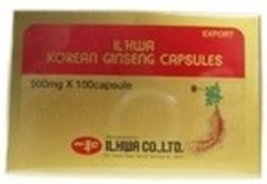 ILHWA CO.,LTD ILHWA Korean Ginseng Capsules - 50 capsules