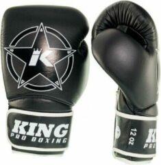 King (kick)bokshandschoenen Vintage 2 Zwart 12oz